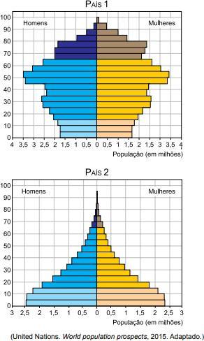 Pirâmides etárias em questão da UEA