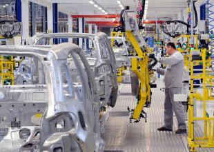 linha de produção automobilística