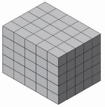Ilustração de agrupamento de caixas