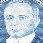 Getúlio Vargas estampado em nota