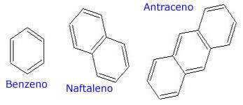 Nomenclatura de hidrocarbonetos aromáticos