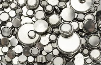 Pilhas de lítio em vários tamanhos