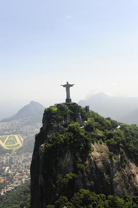 O Cristo Redentor no Morro do Corcovado, Rio de Janeiro