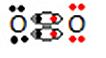 Fórmula de Lewis do gás oxigênio
