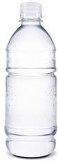 A água com gás é uma solução líquida