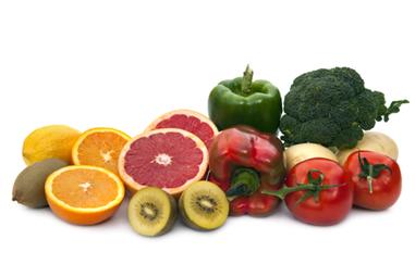 Alimentos que são fontes de vitamina C