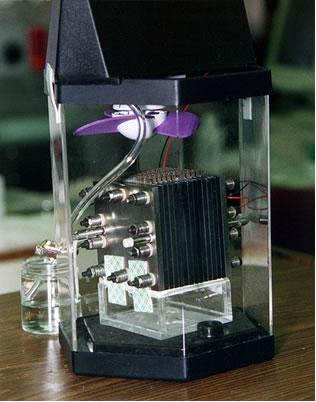Célula a combustível da NASA movida a metanol