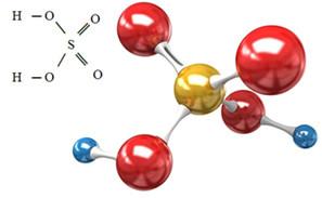 Fórmula do ácido sulfúrico