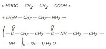 Resposta de exercício sobre polímeros de condensação