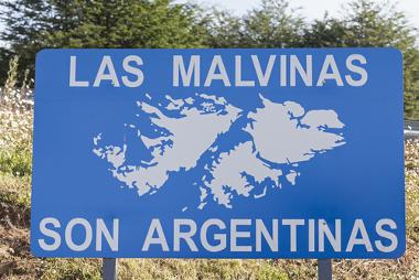 A Argentina reivindica o território das Malvinas