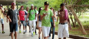Rolezinho realizado no Parque do Ibirapuera