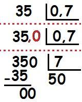 Divisão de inteiro por decimal