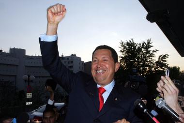 O ex-presidente Hugo Chávez, que faleceu em 2013*