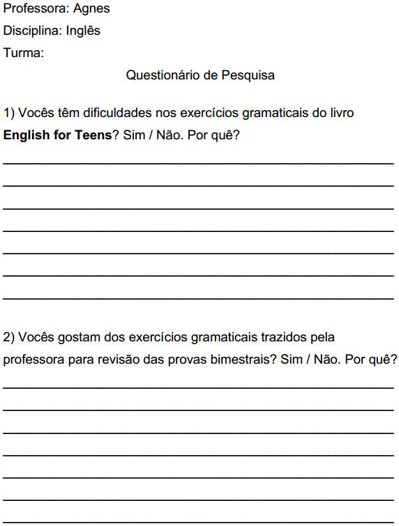 Perguntas 1 e 2