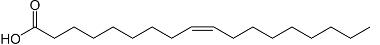 Estrutura do ácido oleico