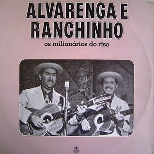 Capa de disco de Alvarenga e Ranchinho
