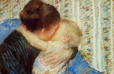 A pintora americana Mary Cassat viveu boa parte de sua vida na França, onde conviveu com outros pintores impressionistas