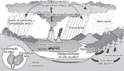 Ciclo da água alterado