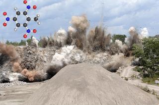 O TNT é um explosivo que é um nitrocomposto