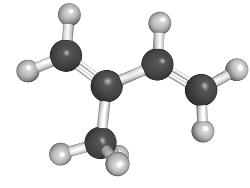 Molécula de isopreno
