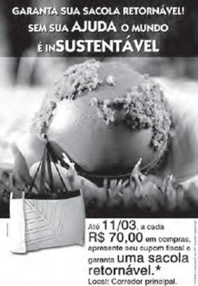 Ao interpretar um anúncio publicitário, sempre considere os elementos verbais e não verbais. Disponível em: www.portaldapropaganda.com.br