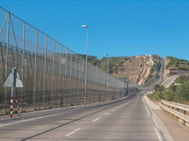 Imagem do Muro de Melilla ³