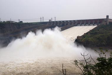 Usina hidrelétrica de Itaipu, a segunda maior do mundo