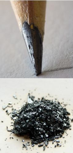 """A grafita e o iodo são ametais que, no estado sólido, possuem brilho """"metálico"""""""