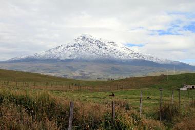 Monte Chimborazo, o ponto da Terra mais próximo do espaço *