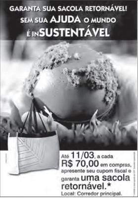 Questão 106, Enem 2012. Disponível em: www.portaldapropaganda.com.br. Acesso em: 1 mar. 2012