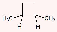 Cadeia que contem dois carbonos cujos ligantes são hidrogênio (H) e metil (CH3)