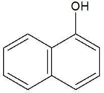 Fenol formado pelo aromático naftaleno
