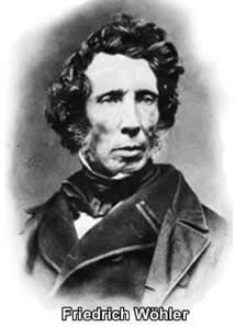 Friedrich Wöhler sintetizou a ureia - o primeiro composto orgânico sintetizado em laboratório