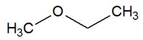 Fórmula estrutural de uma cadeia heterogênea