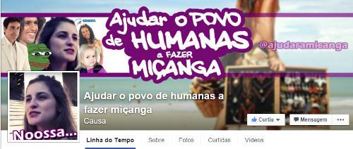 Página no Facebook faz brincadeiras com a área de Humanas