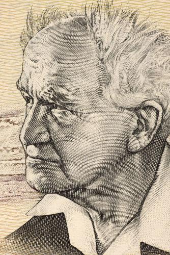 David Ben-Gurion foi uma das principais lideranças sionistas do início da criação de Israel *