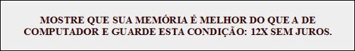 Campanha publicitária de loja de eletrônicos. Revista Época. Nº 424, 03 jul. 2006