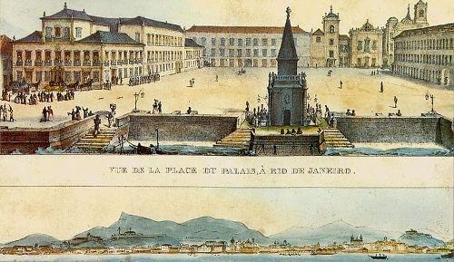 D. Pedro I assistia, das janelas do Paço Imperial, às movimentações da Assembleia Constituinte