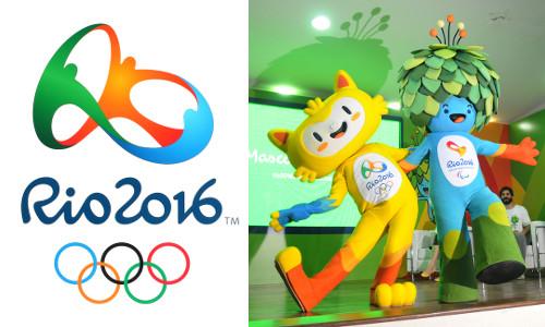 Logomarca e mascotes da Olimpíada do Rio de Janeiro