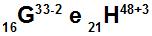 Os átomos G e H são isoeletrônicos