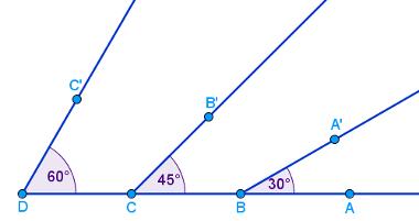 Ângulos notáveis estudados na Trigonometria