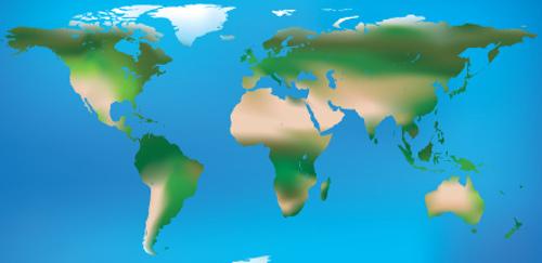 O clima desértico é encontrado especialmente na zona intertropical, onde a incidência dos raios solares é mais intensa