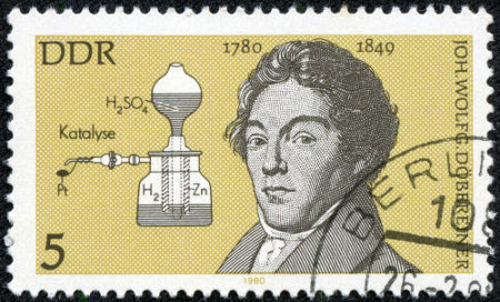 Ilustração de Johann Wolfgang Dobereiner *