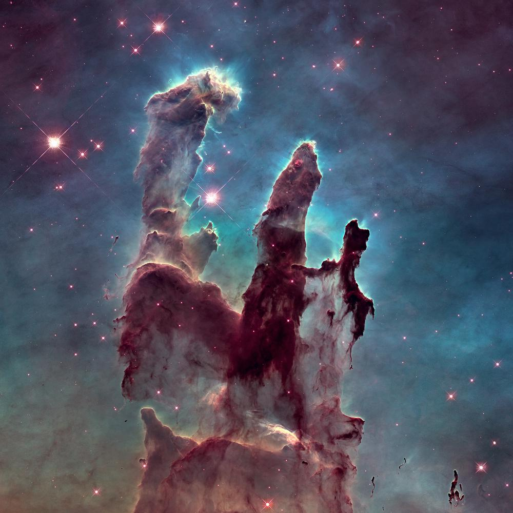 Pilares da criação – 7.000 anos-luz