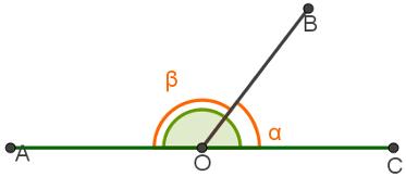 Ângulos cuja soma é igual a 180°