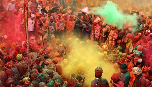 Festival das cores Holi