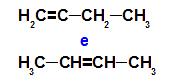 O but-1-eno e o but-2-eno são isômeros de posição