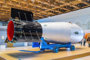 Tsar Bomb foi o nome dado à bomba de Hidrogênio fabricada pela União Soviética e testada em 30 de outubro de 1961