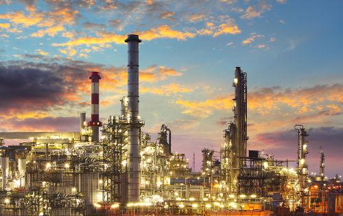 A refinaria de petróleo é o local de produção do GLP