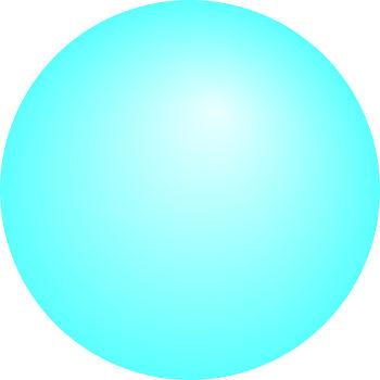 Representação do modelo atômico de Dalton